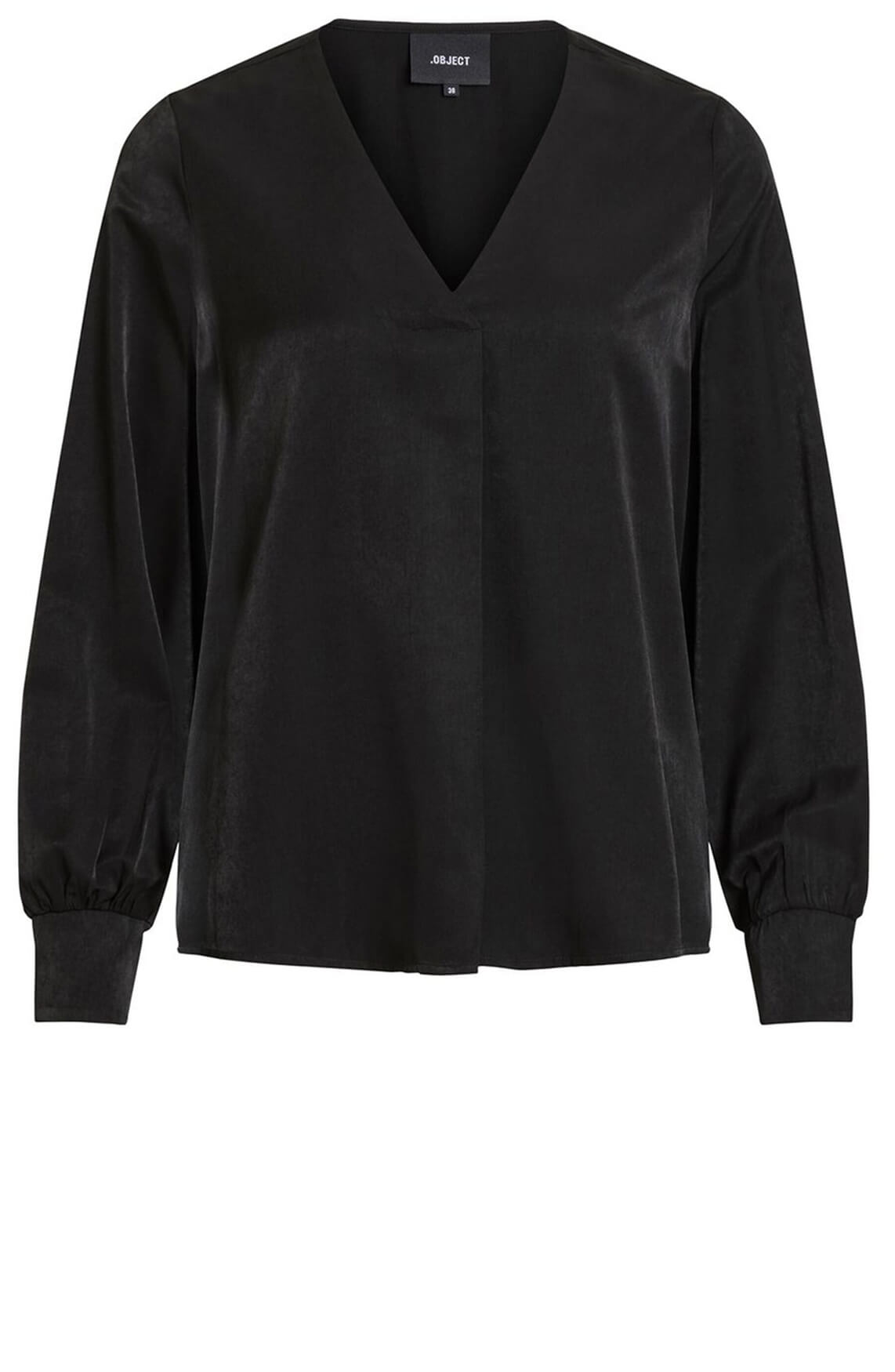 Object Dames Eileen blouse zwart