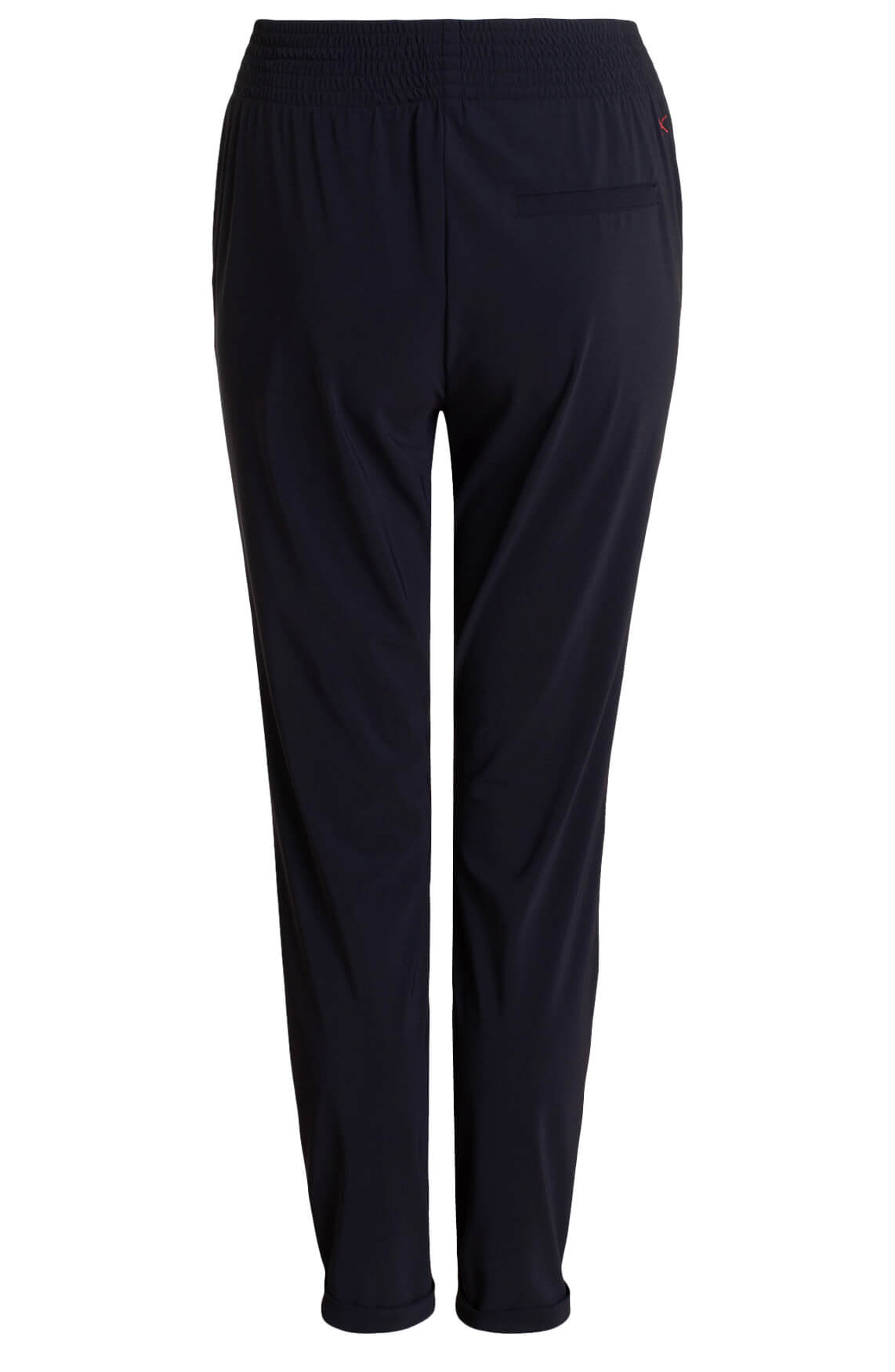 Anna Blue Dames Jersey sensitive broek zwart