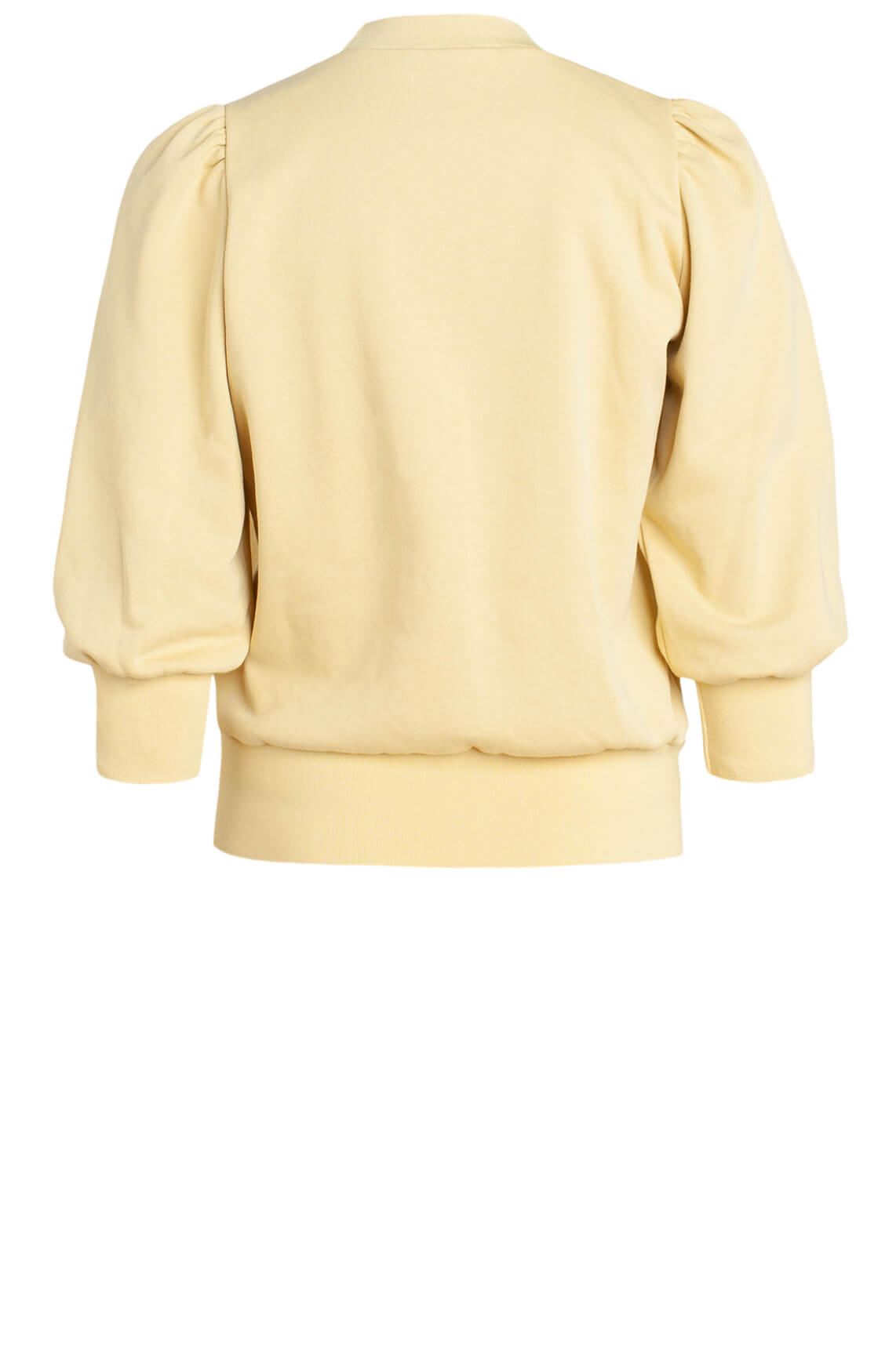 Co Couture Dames Solid sweater geel