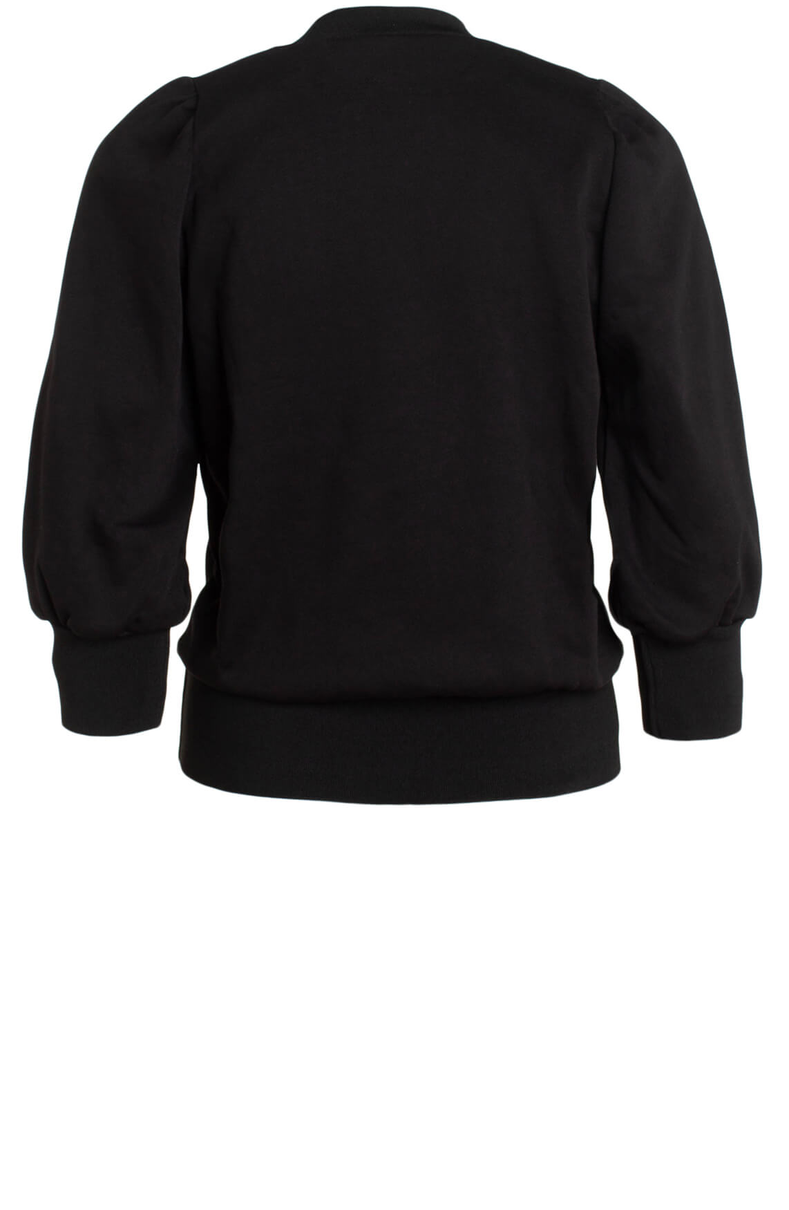 Co Couture Dames Solid chop sweater zwart