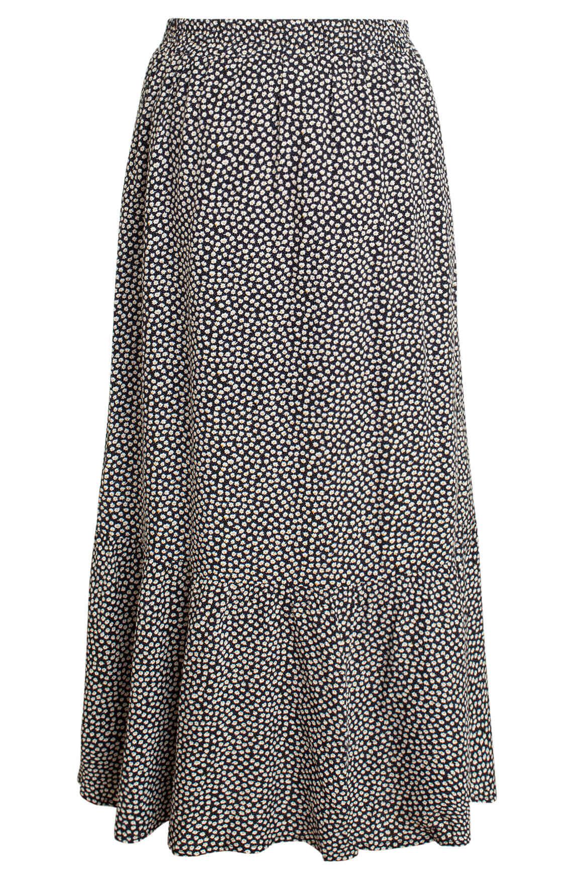 Co Couture Dames Medusa lange rok zwart