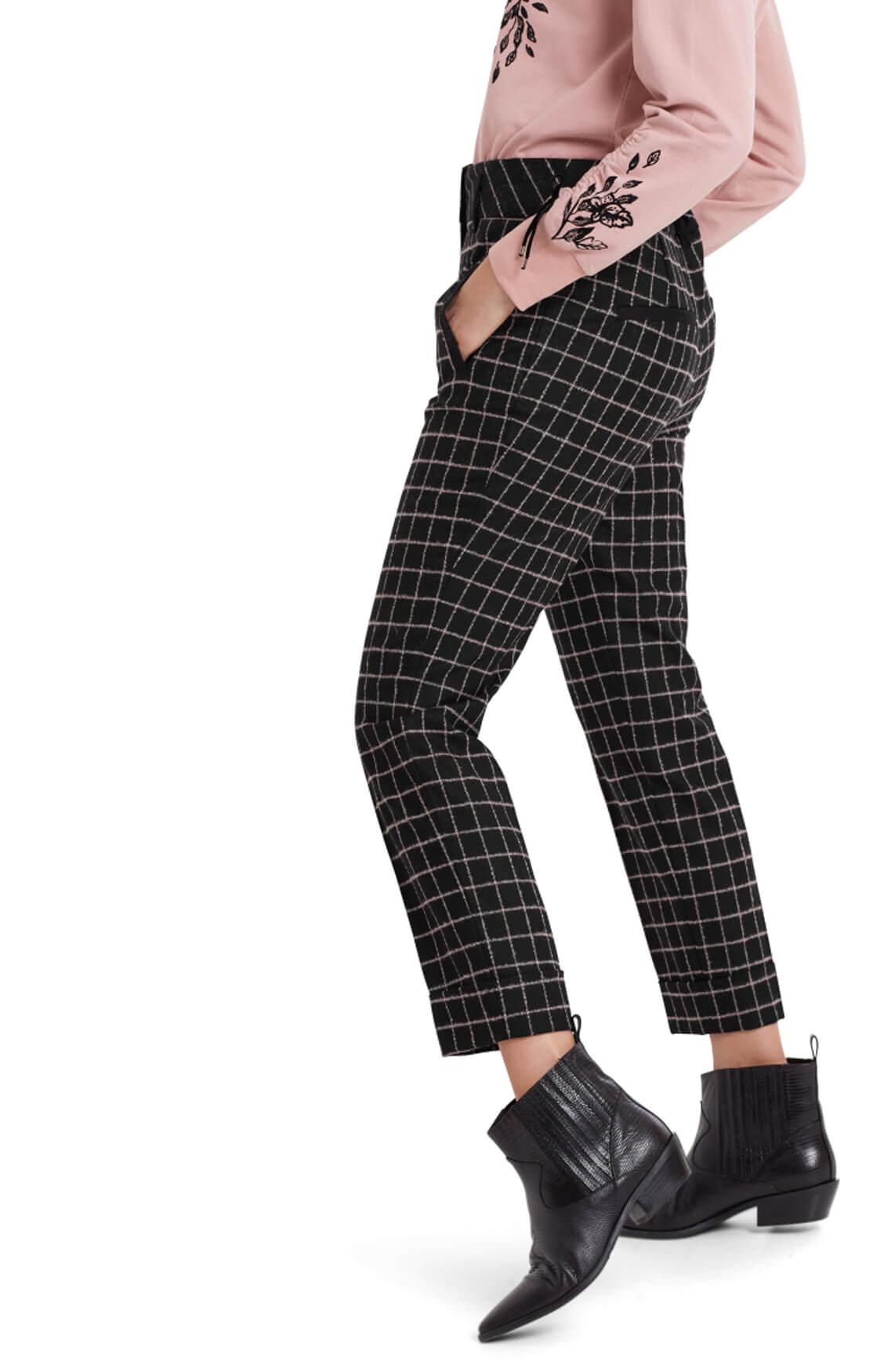 Marccain Dames Wollen pantalon zwart