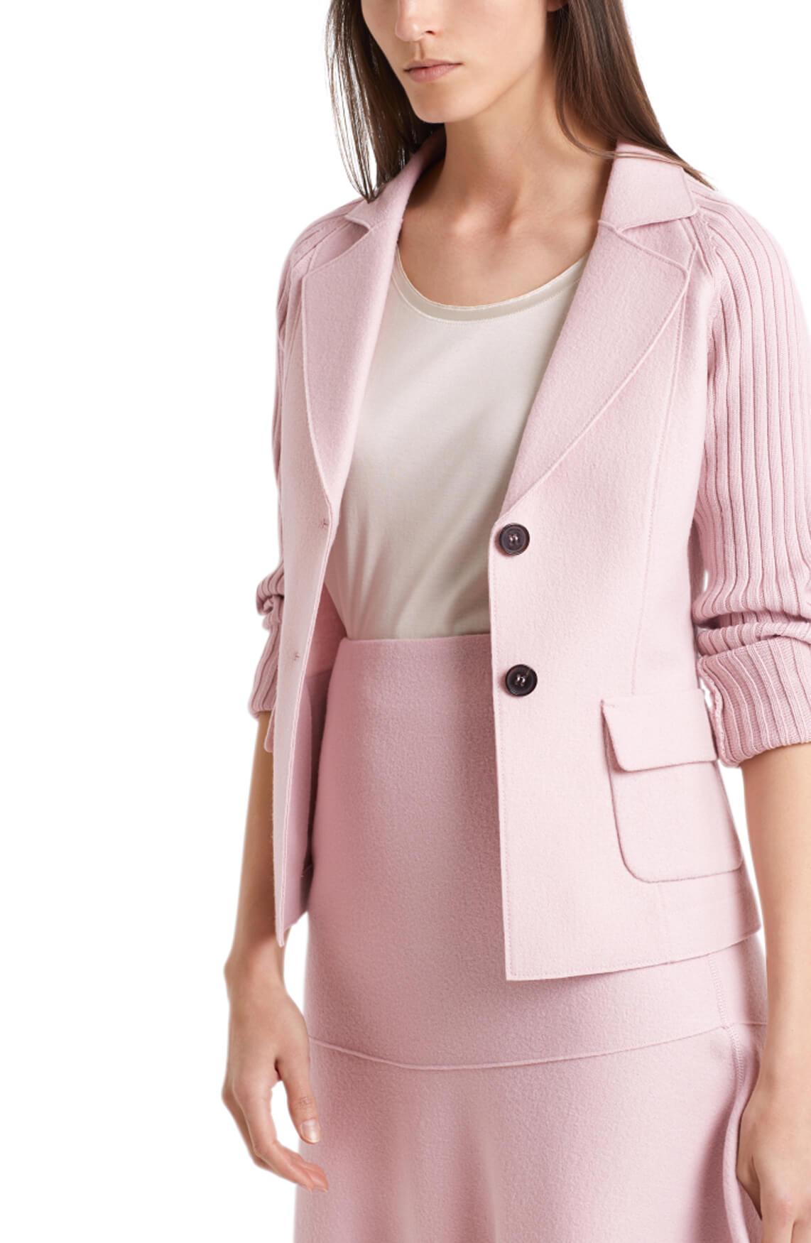 Marccain Dames Wollen blazer roze