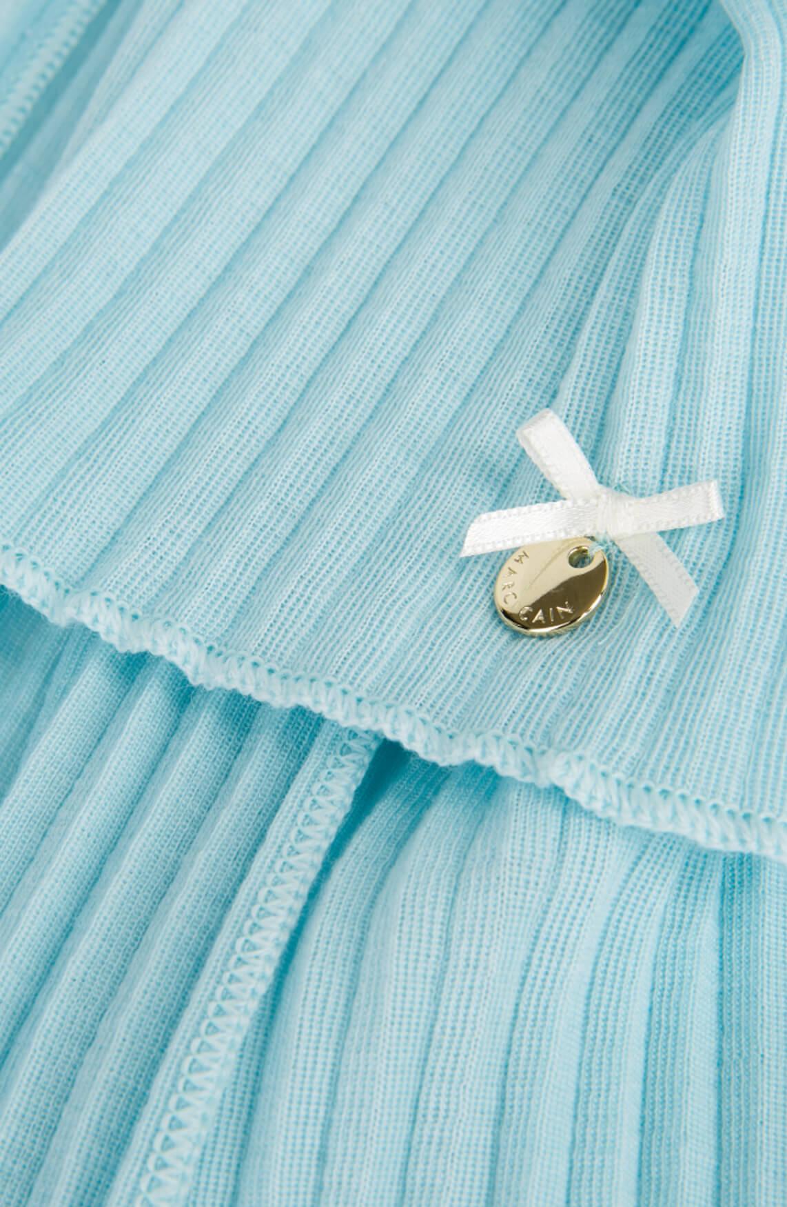 Marccain Dames Plissé shawl Blauw