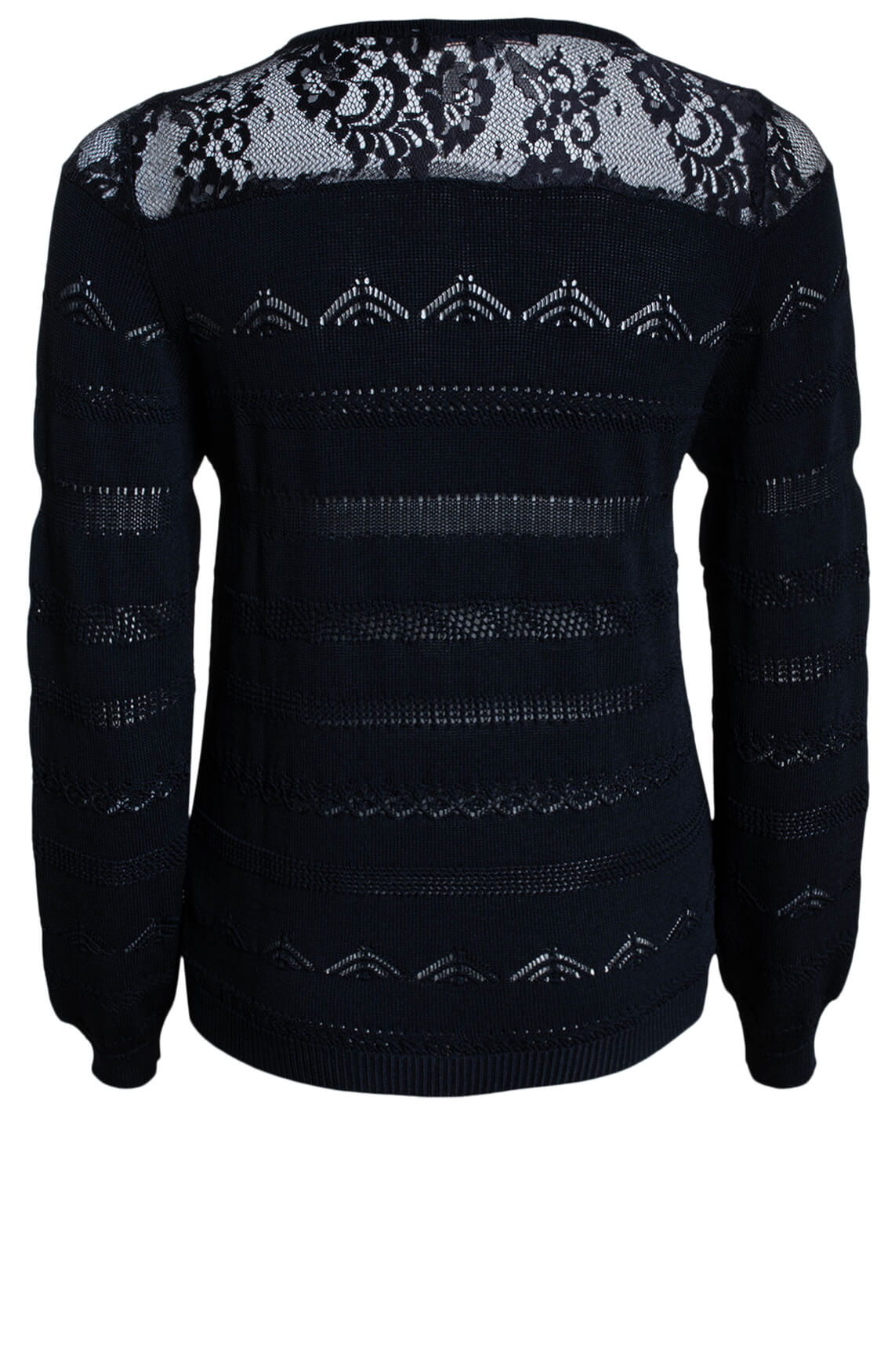 Kocca Dames Knap pullover zwart