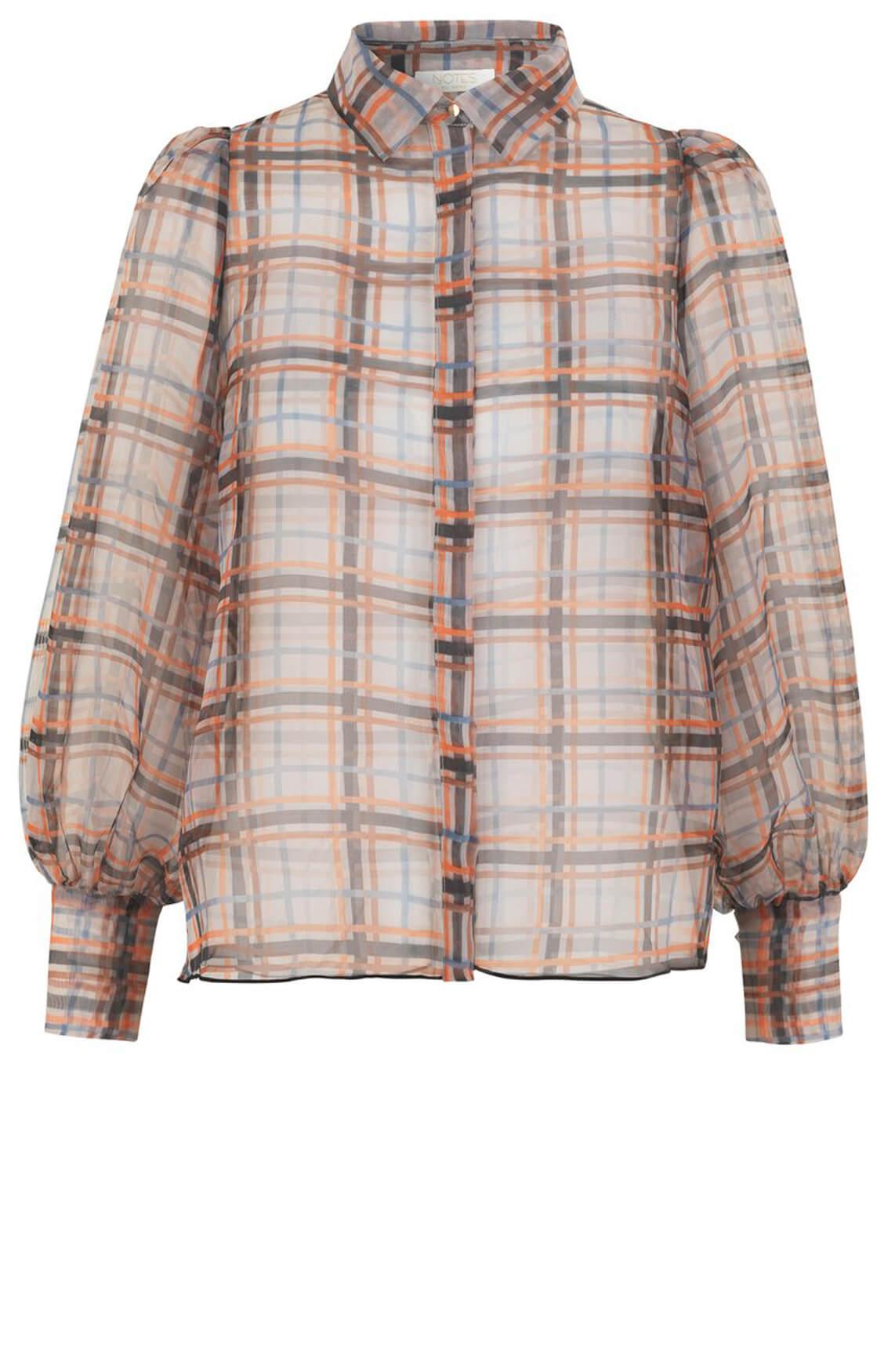 Notes du Nord Dames Roxie blouse Bruin