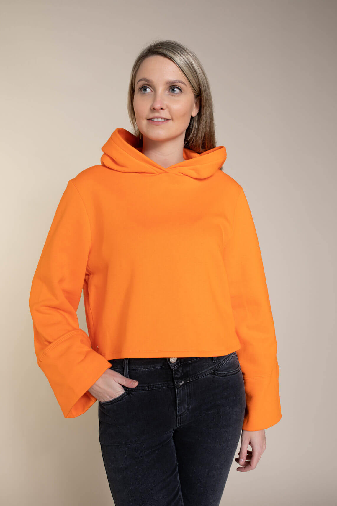 Notes du Nord Dames Sweater Oranje