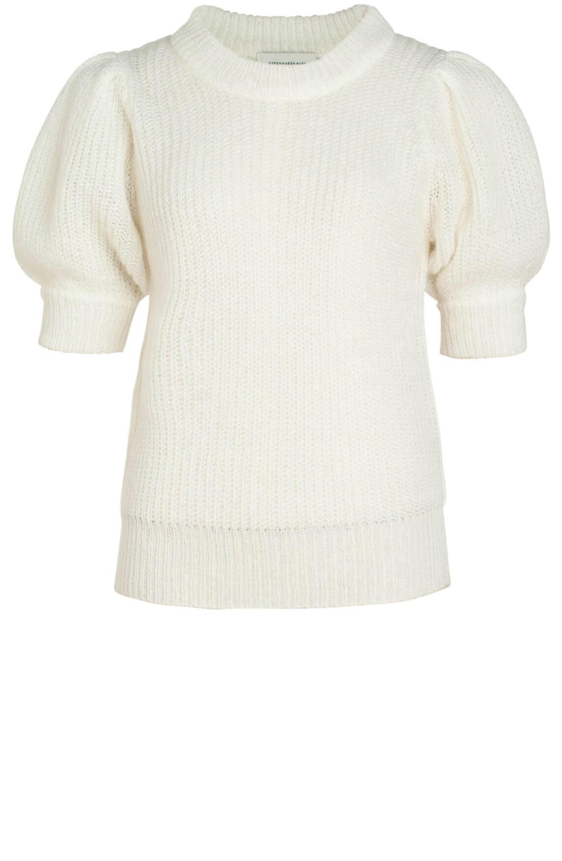 Copenhagen Muse Dames Gebreide pullover wit