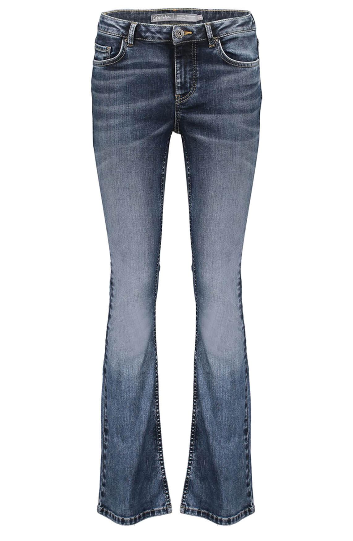 Geisha Dames Flared jeans Blauw