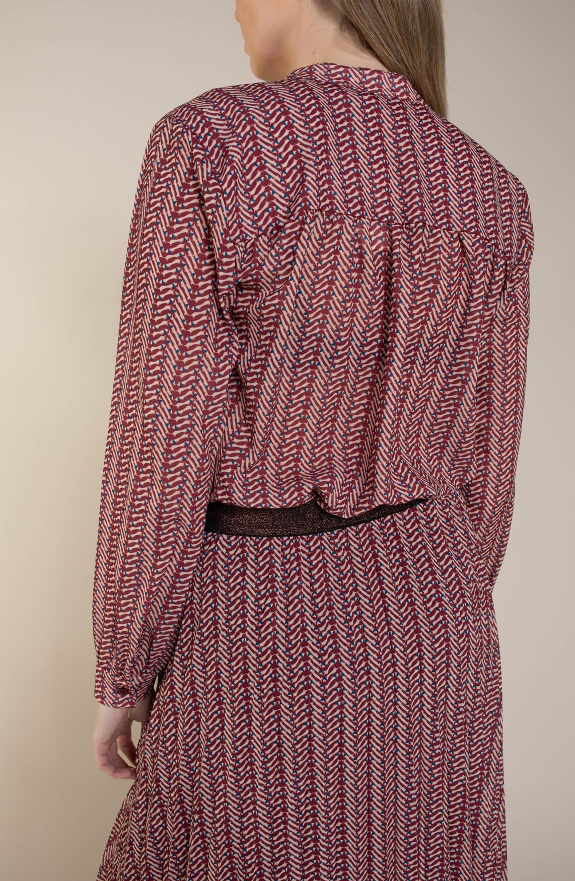 Geisha Dames Blouse met print roze