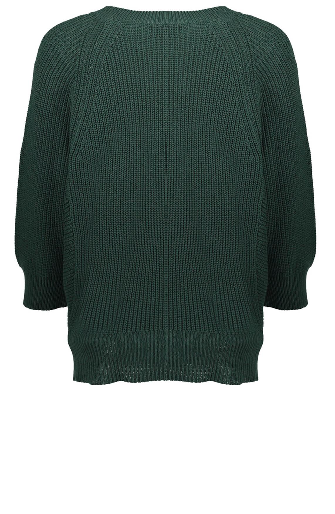 Geisha Dames Pullover met V-hals groen