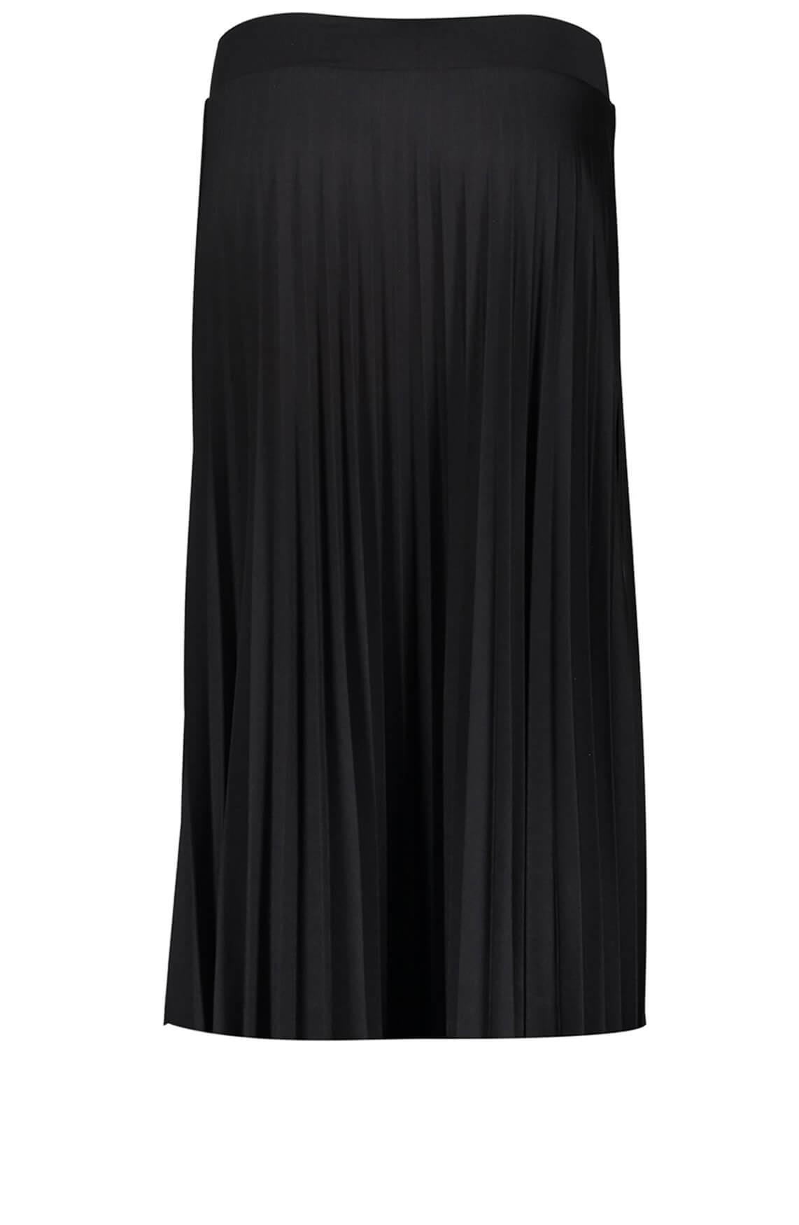 Geisha Dames Plissé rok zwart