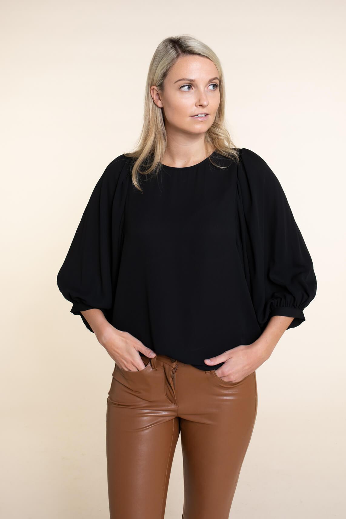 Kocca Dames Talamy blouse zwart