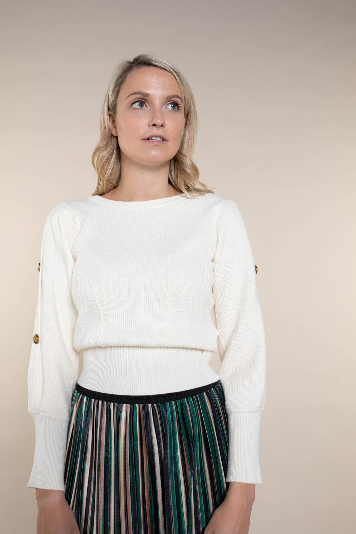 Kocca Dames Blasius pullover Ecru