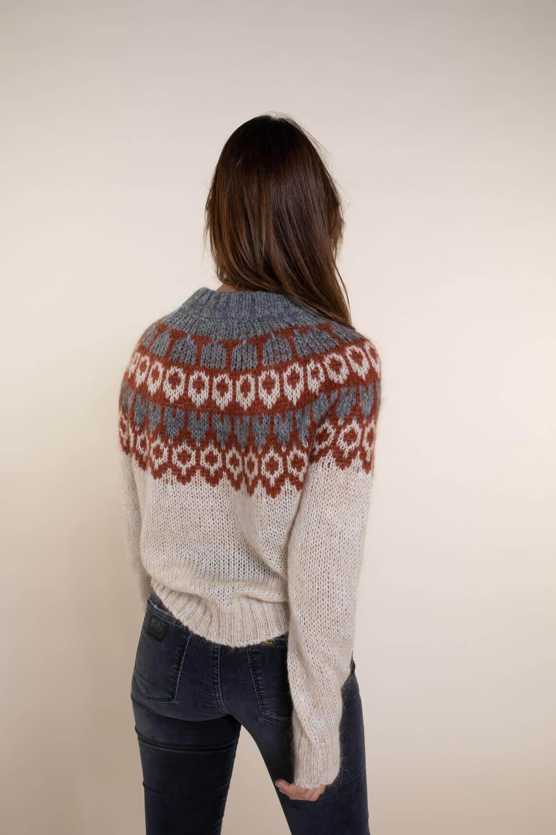 Kocca Dames Wrines pullover Ecru