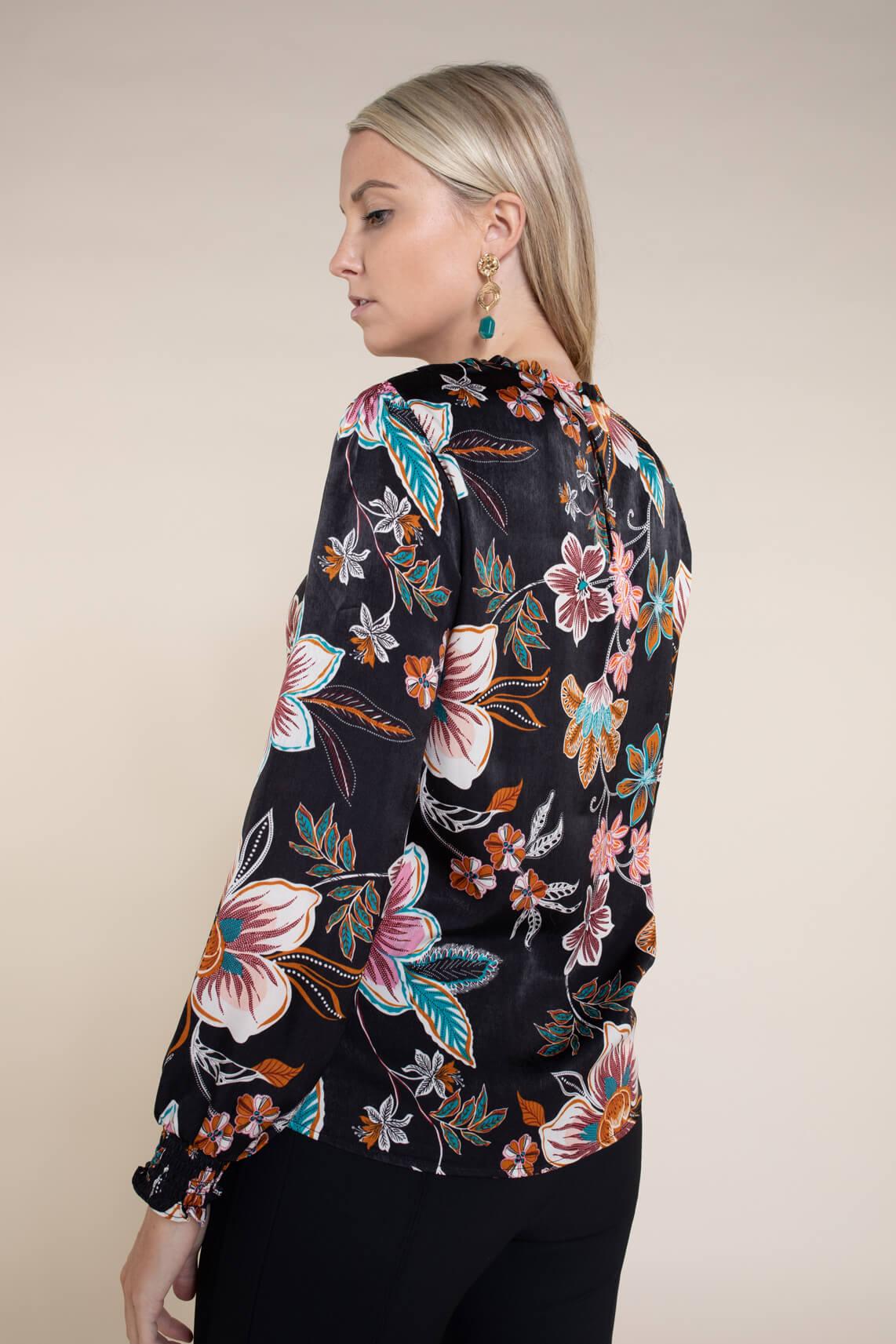 Kocca Dames Uranda blouse zwart