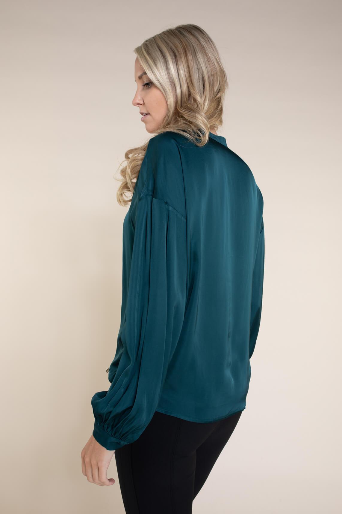 Kocca Dames Clocky blouse Blauw