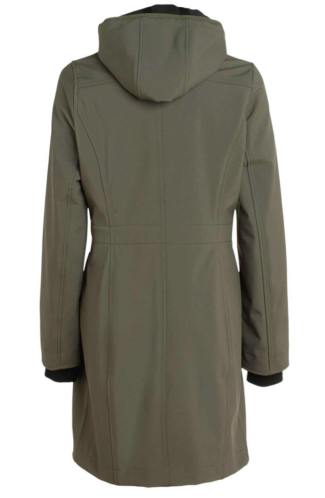 Moscow Dames Arischa waterproof jas groen