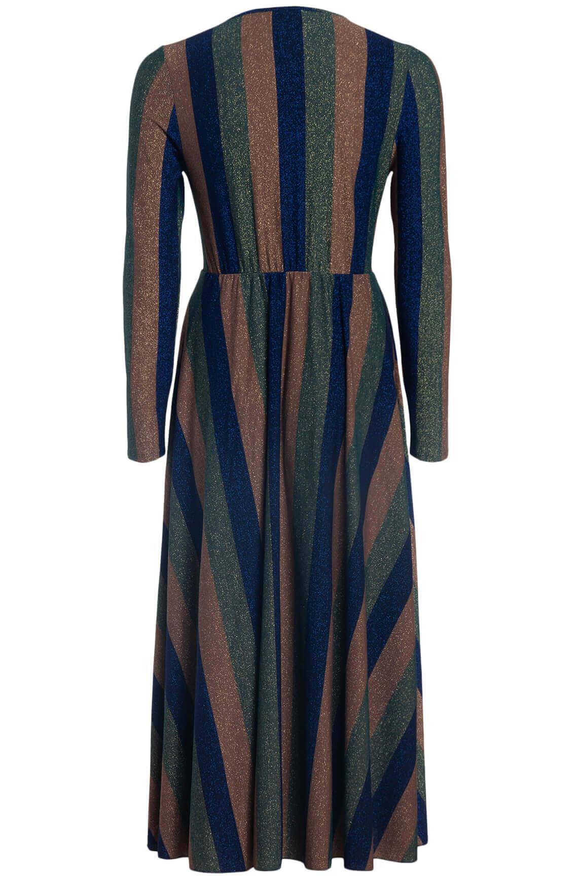 Kocca Dames Poret lurex jurk Blauw
