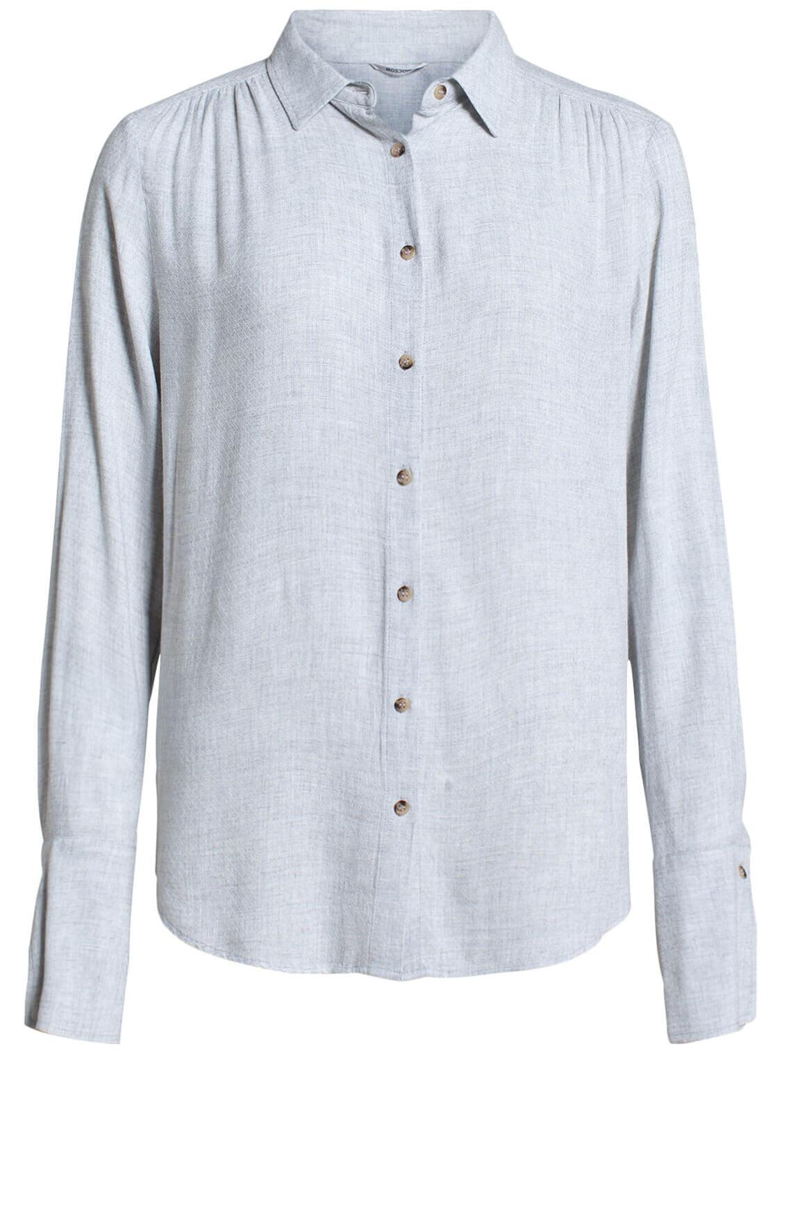 Moscow Dames Nadiya blouse Grijs