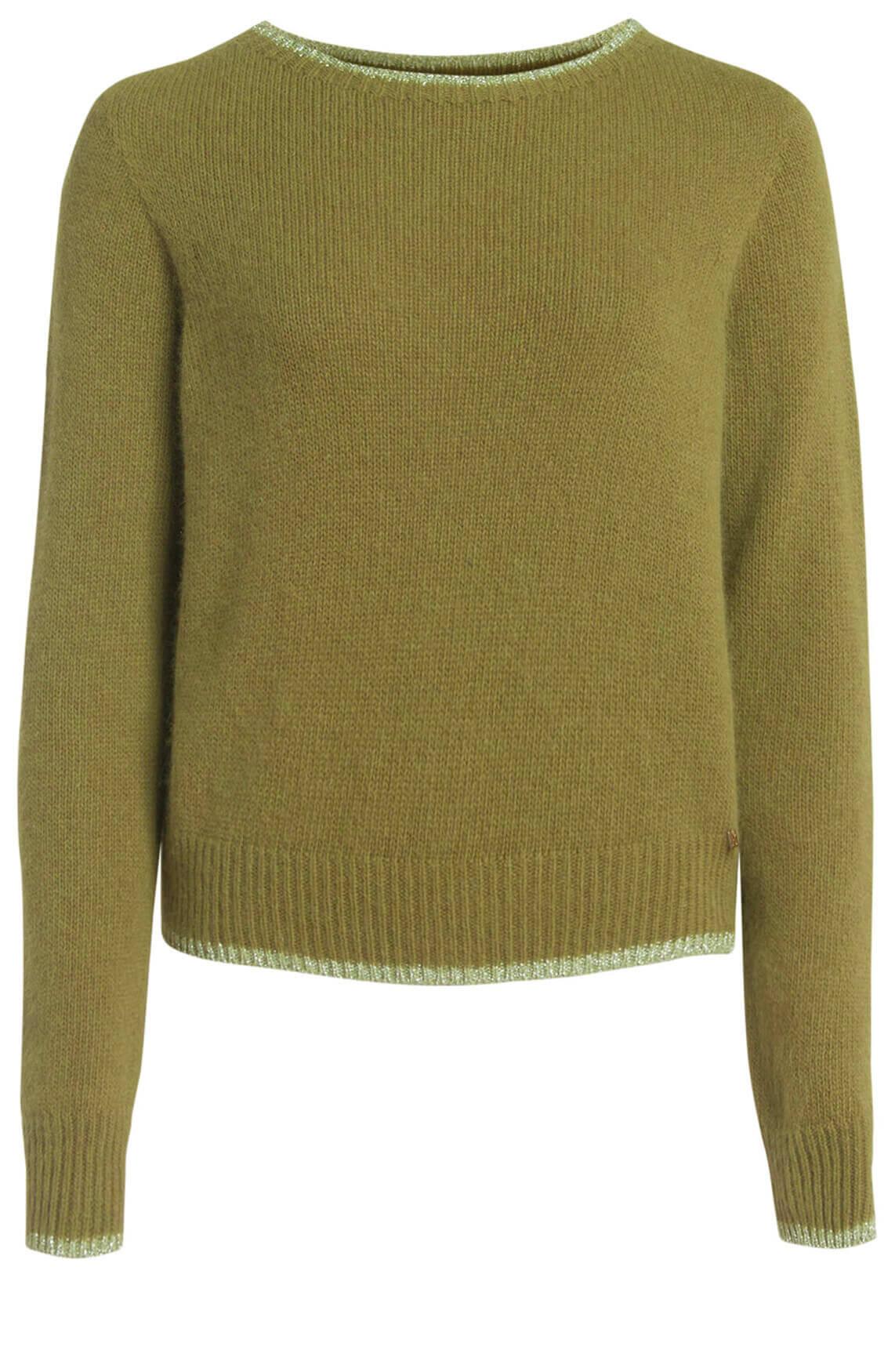 Kocca Dames Quiet pullover groen