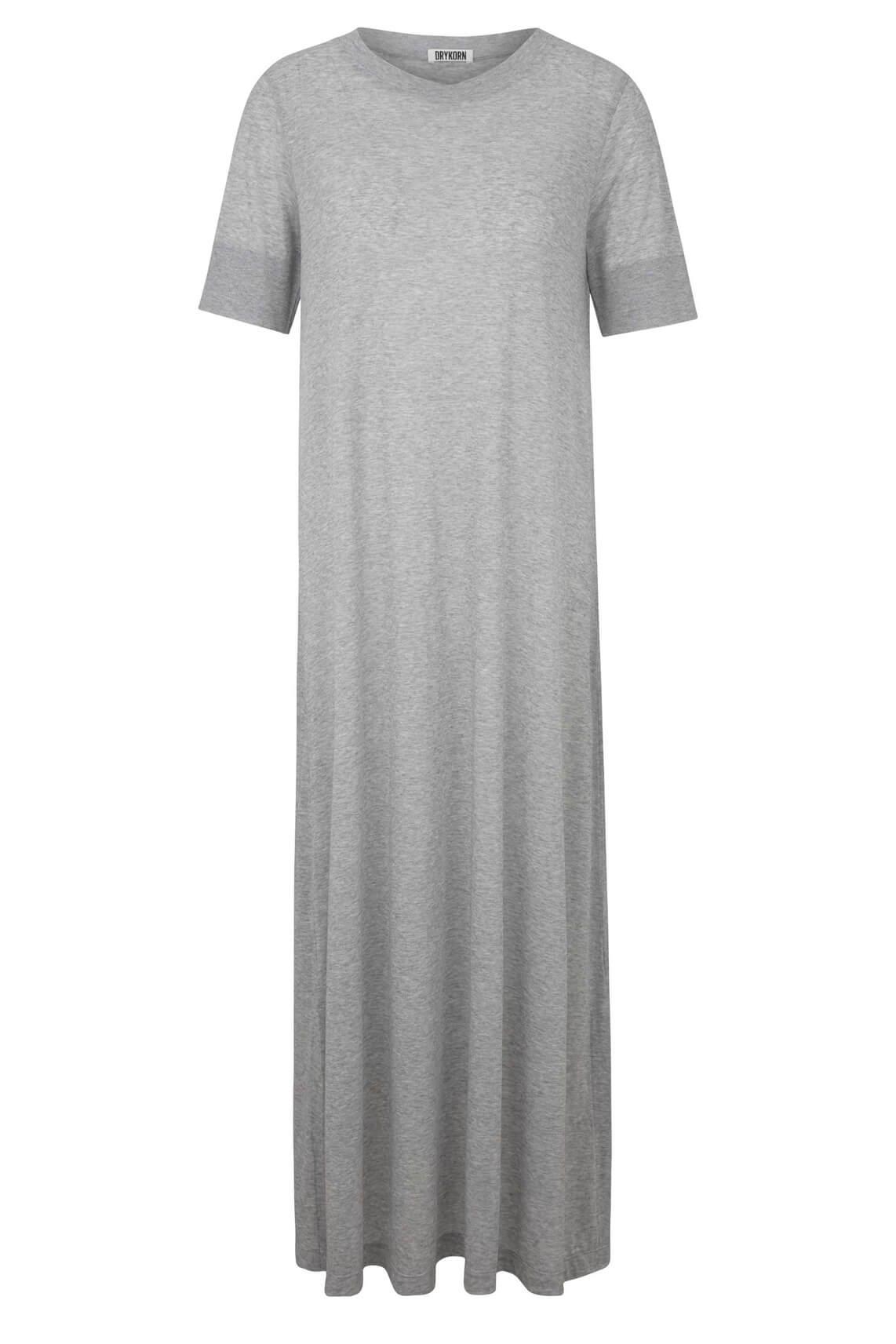Drykorn Dames Jannie lange jurk Grijs