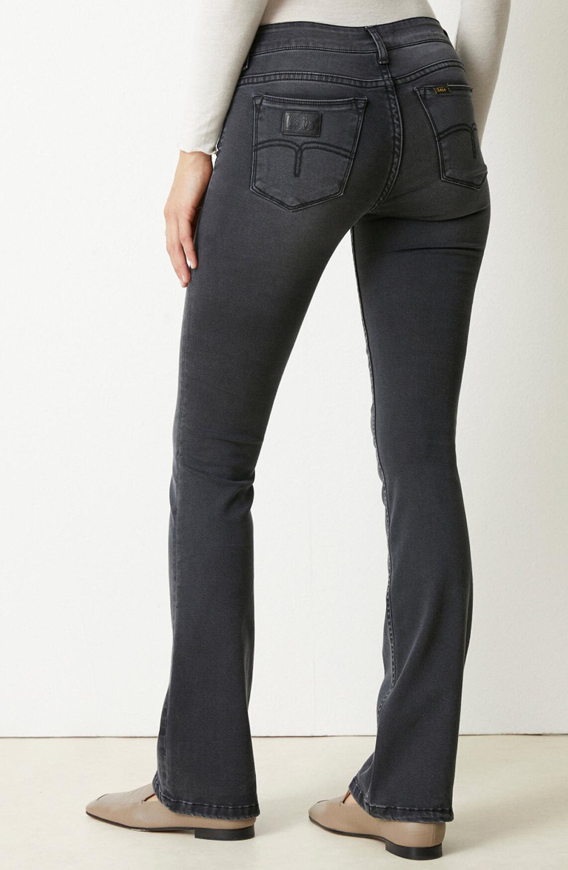 Lois Dames L32 Melrose jeans zwart