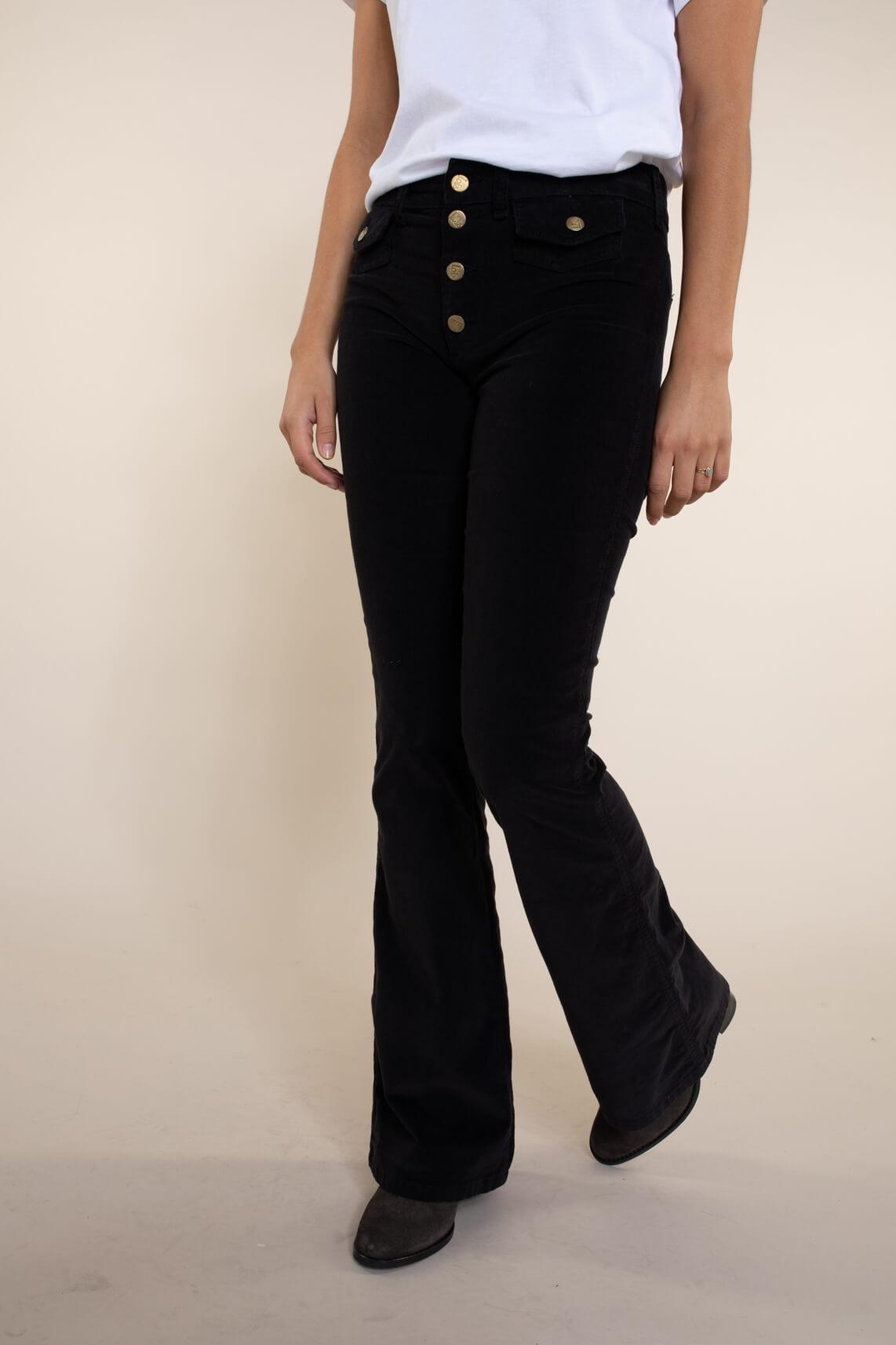 Lois Dames L34 Yoko broek zwart