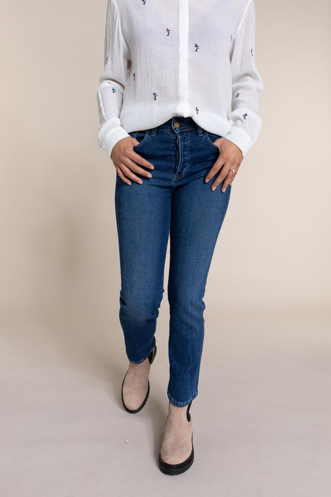 Lois Dames Riko jeans Blauw