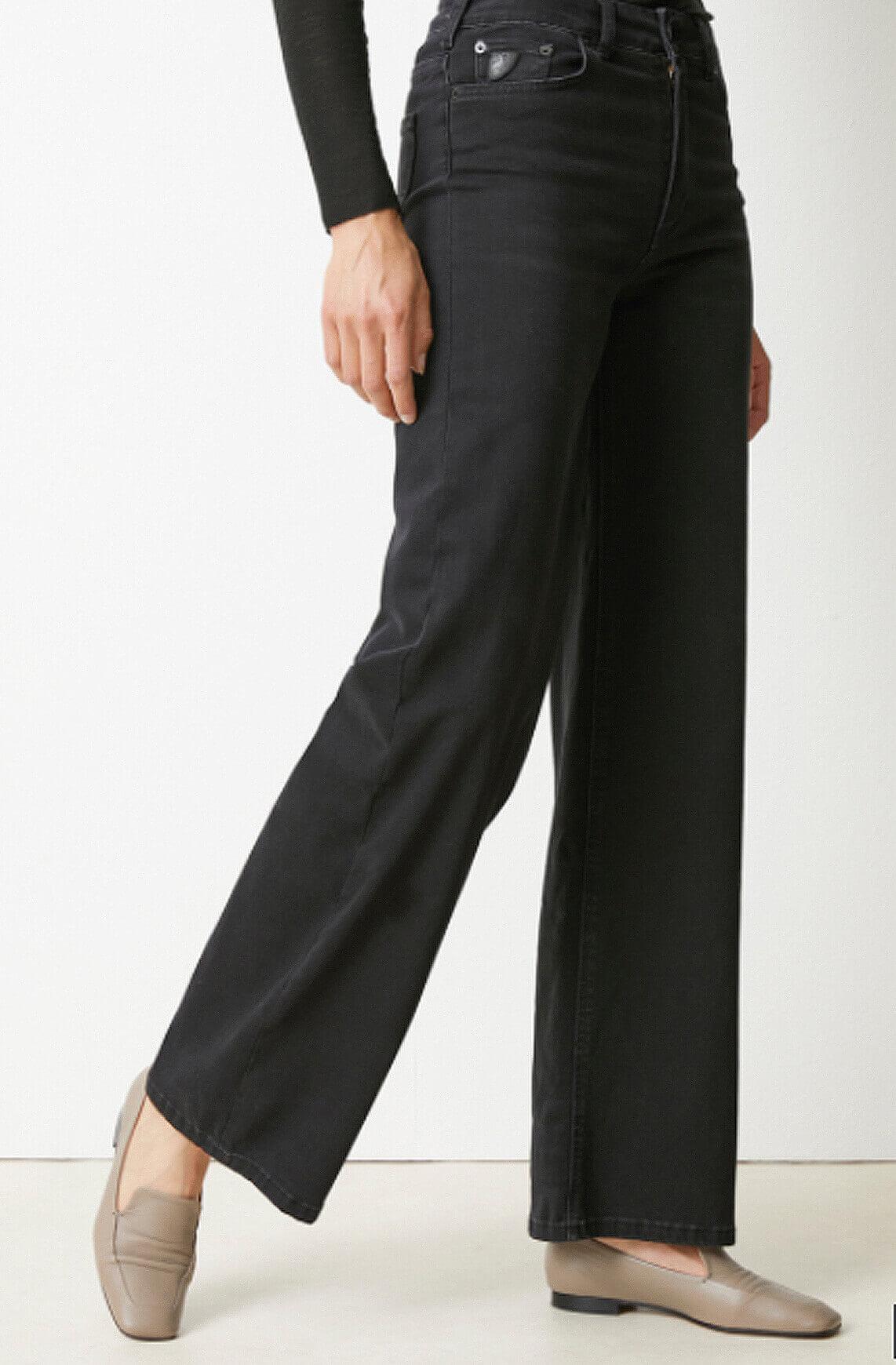 Lois Dames L32 Jossie jeans zwart