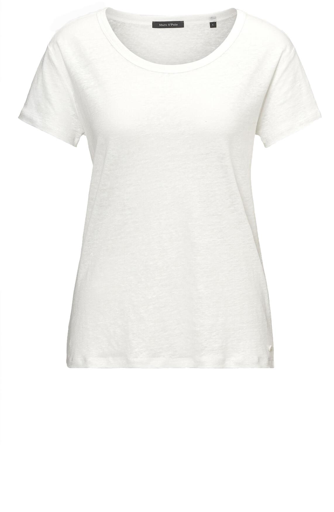 Marc O'Polo Dames Linnen shirt wit