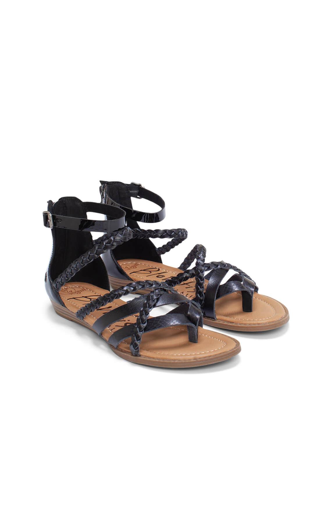 Blowfish Dames Bianka sandaal zwart