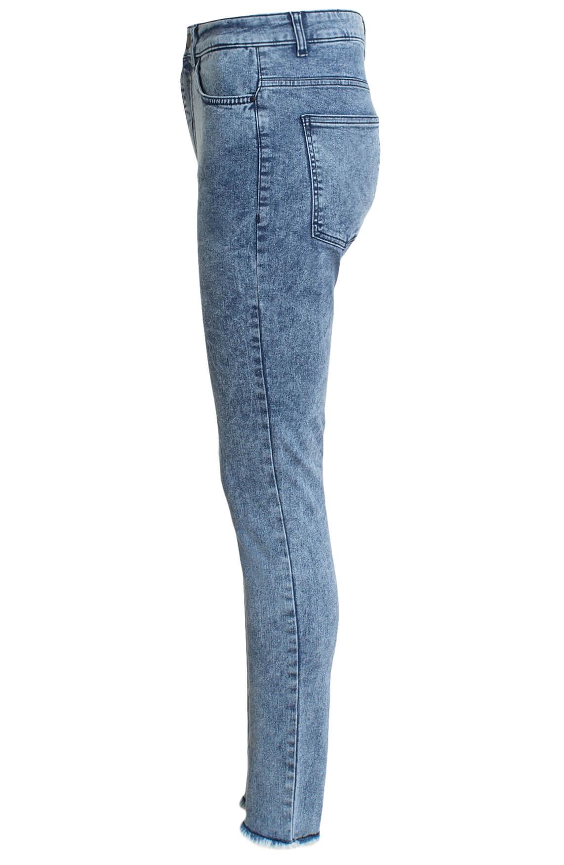 10 Days Dames Skinny jeans Blauw