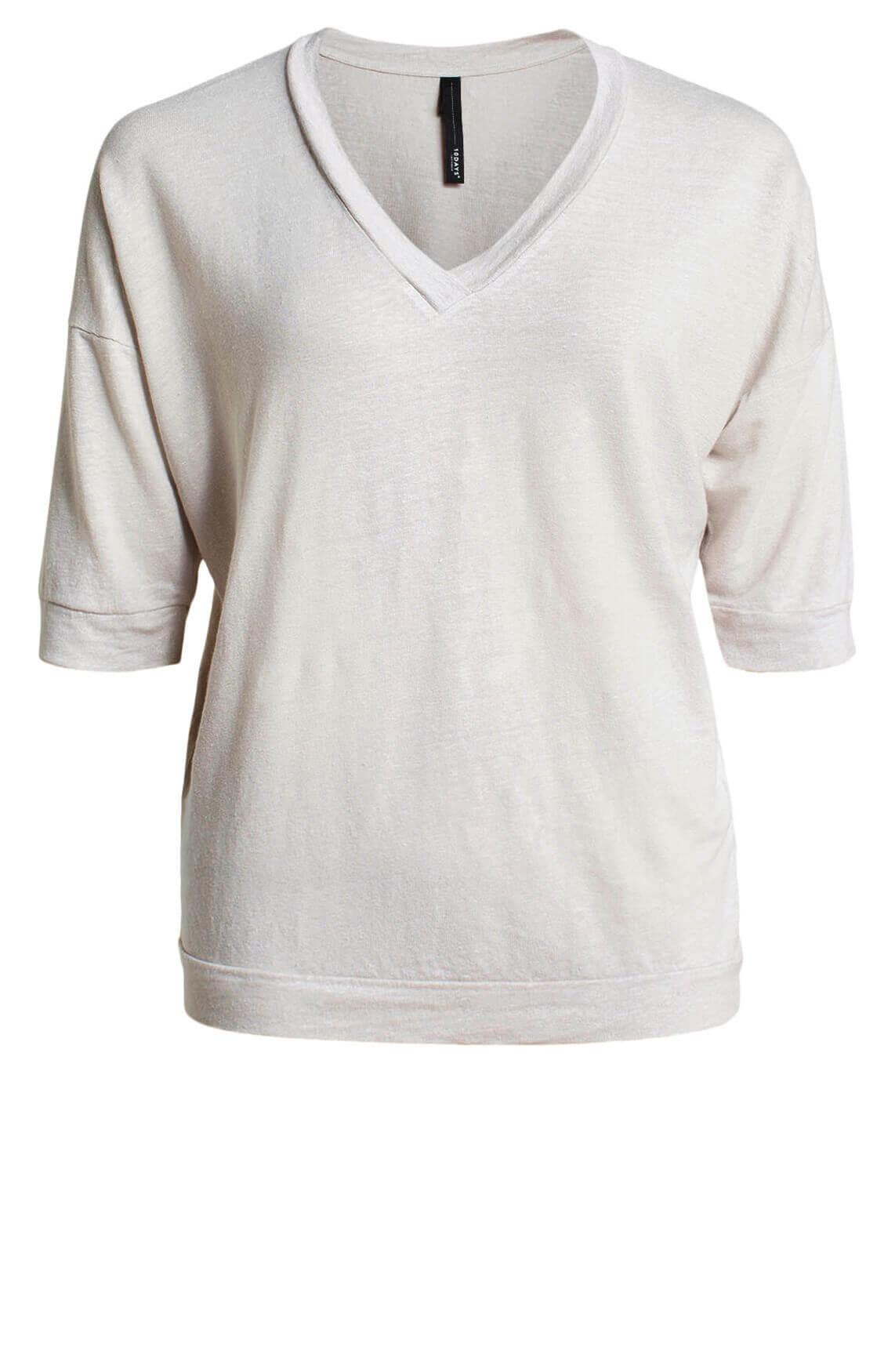 10 Days Dames Loose-fit shirt Bruin