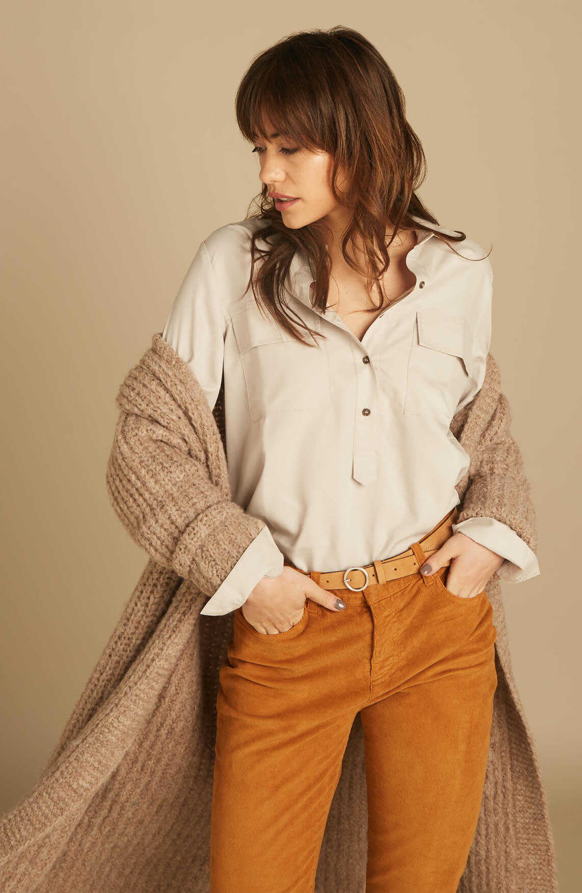 Moscow Dames Nastya blouse Ecru