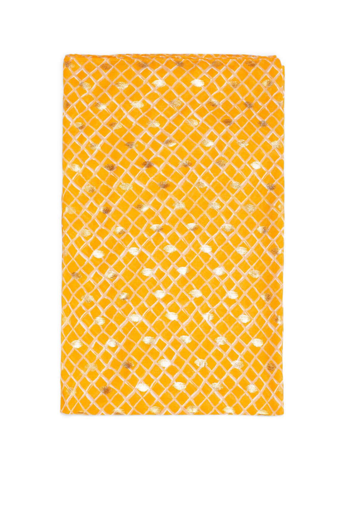 Zo Dames Shawl met print Oranje