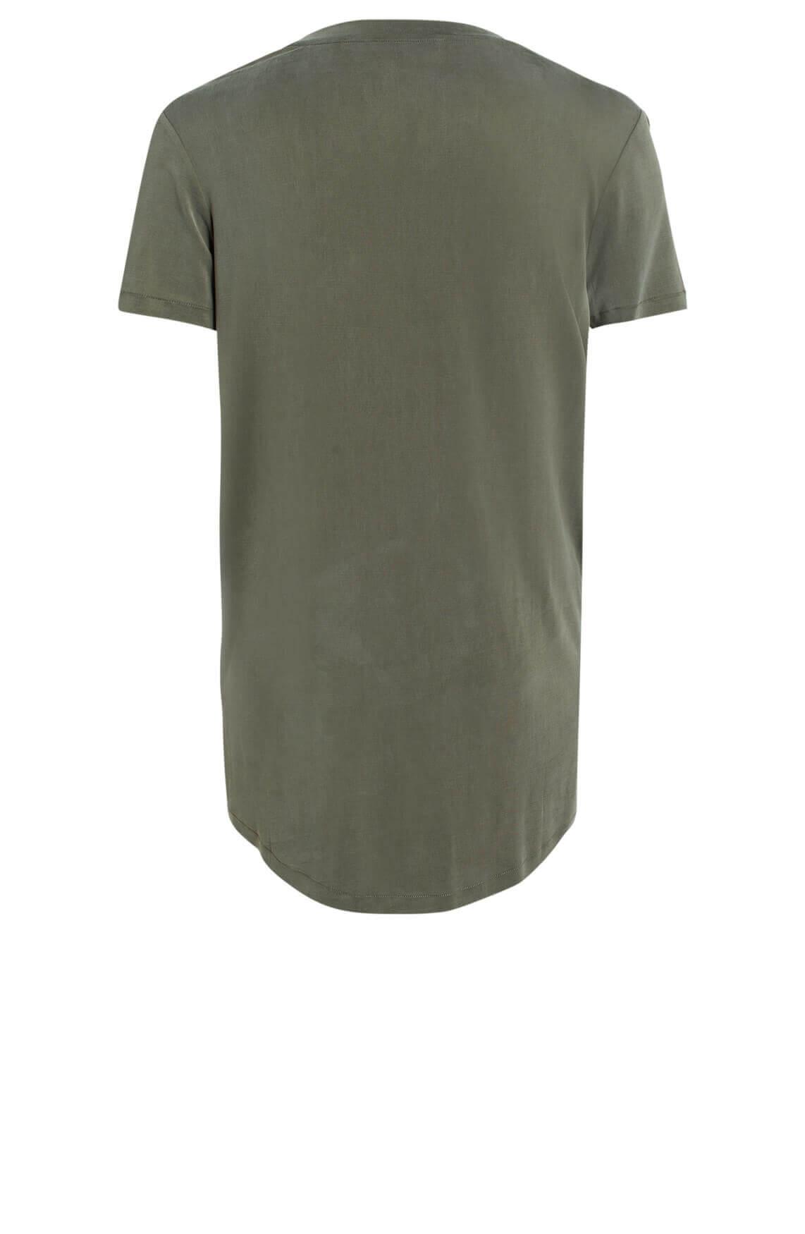 Moscow Dames Rufina cupro t-shirt groen