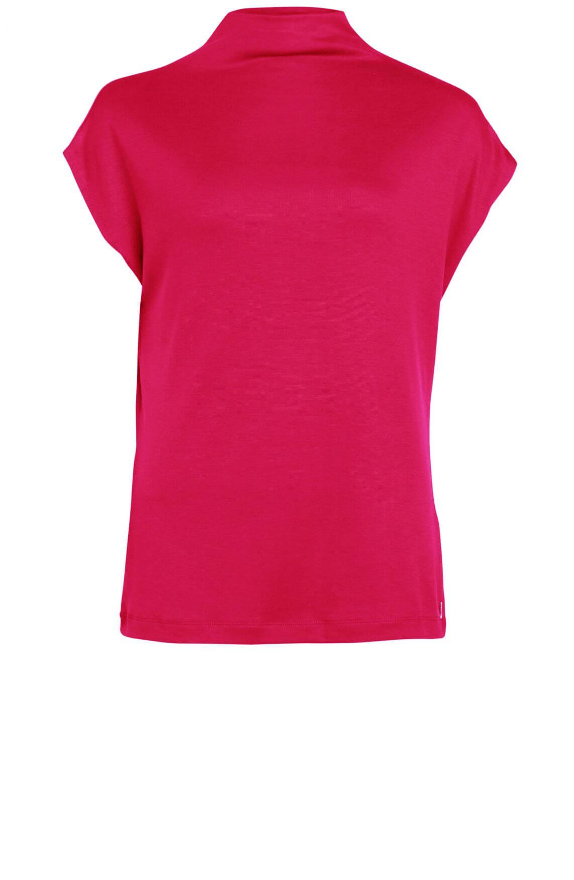 Anna Dames Shirt met col roze