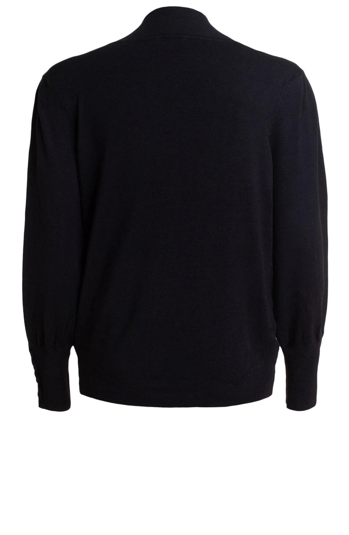 Anna Dames Oversized pullover zwart