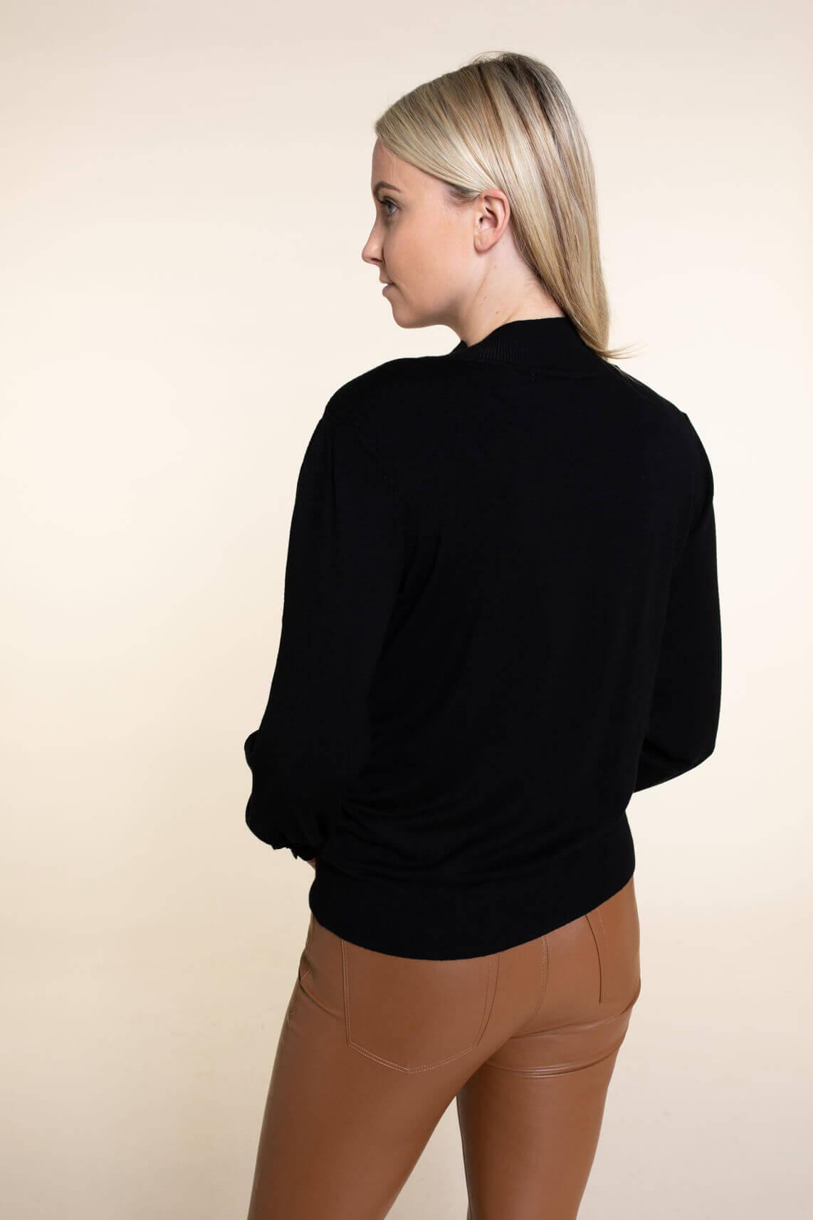 Anna Dames Pullover zwart
