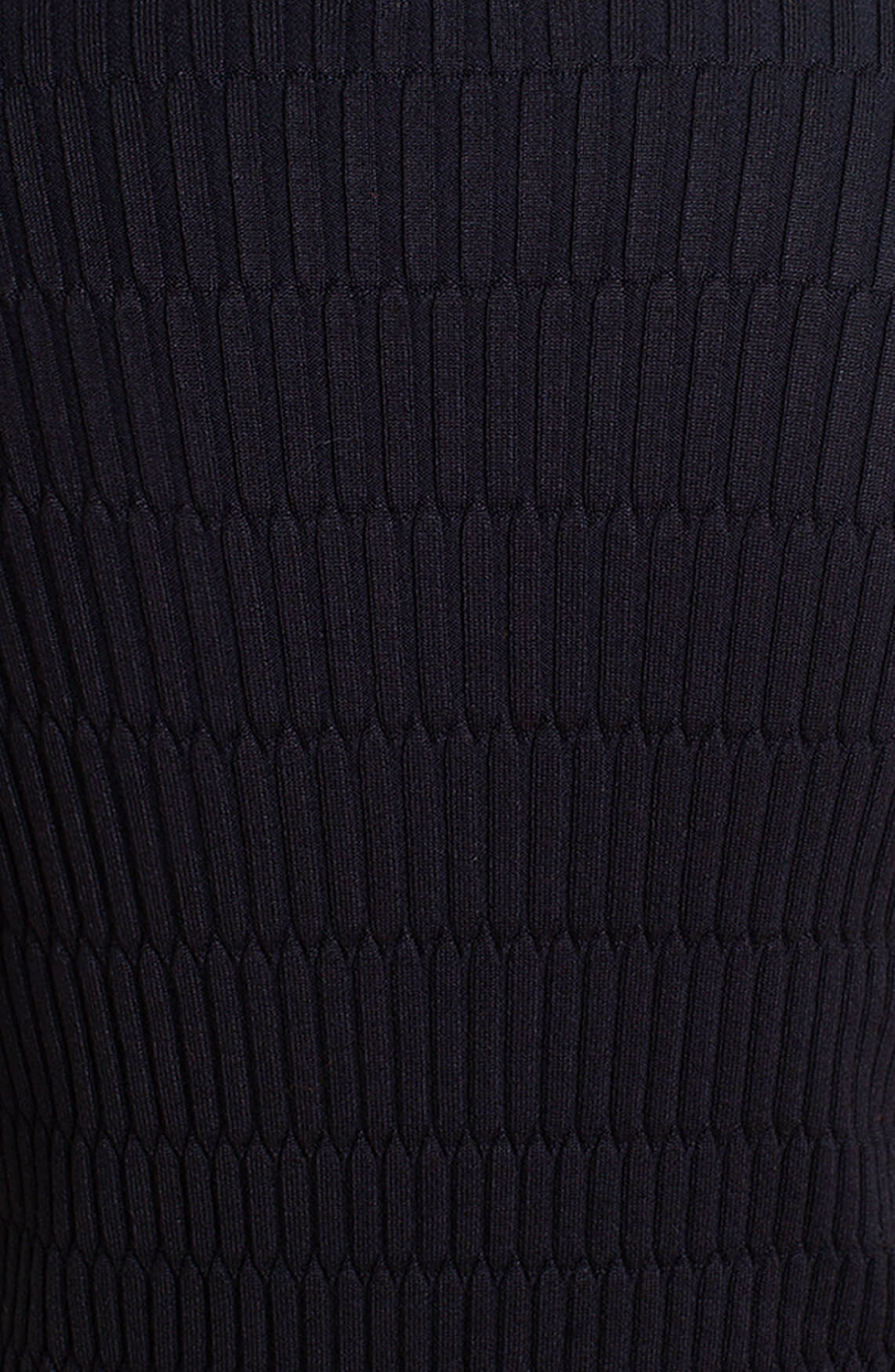 Anna Dames Pull met reliëf zwart