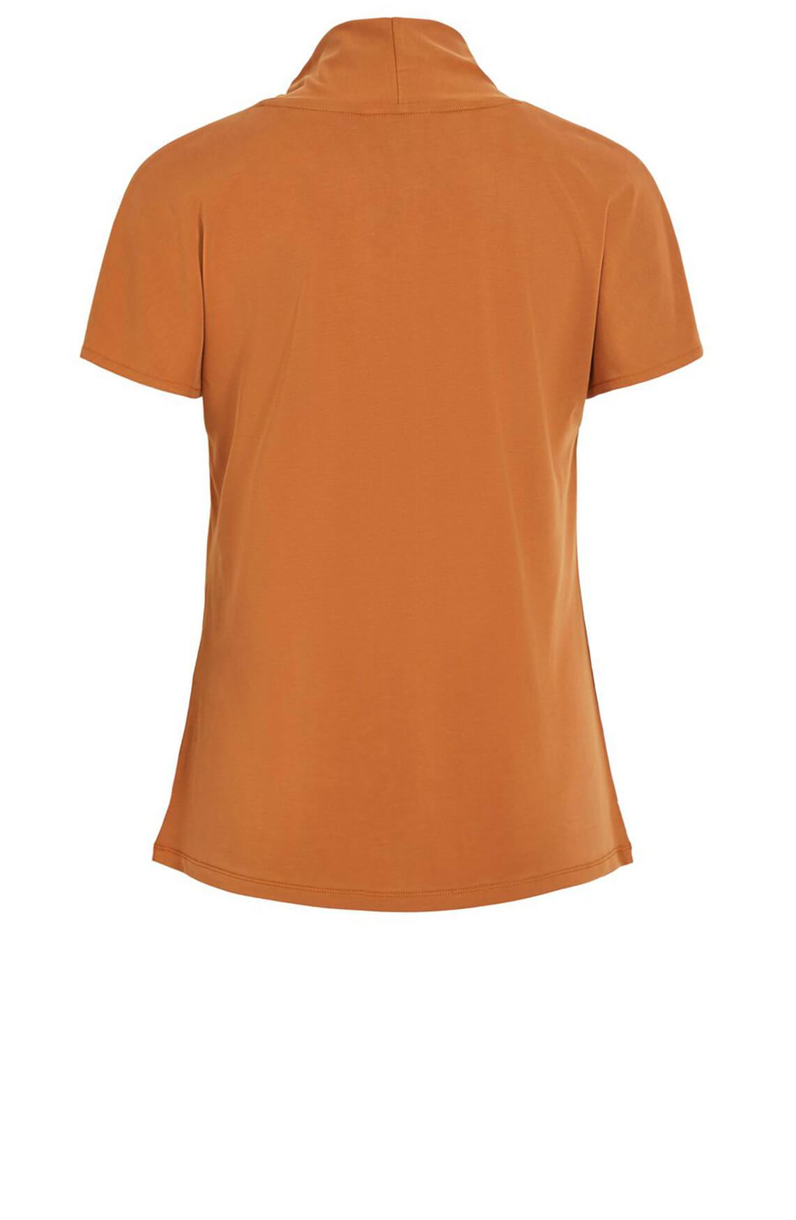 Object Dames Tia shirt Bruin