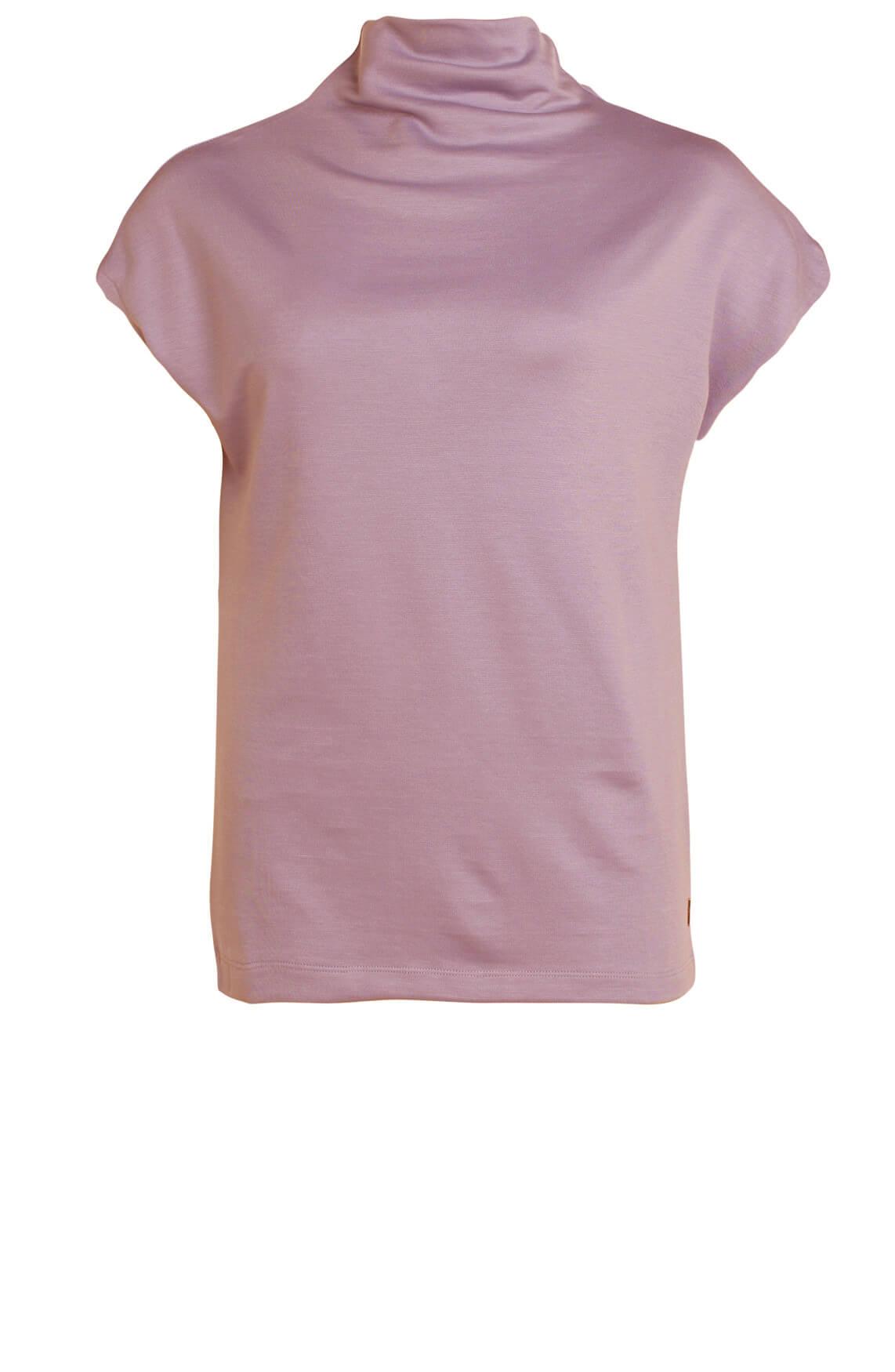 Anna Dames Shirt met col Paars