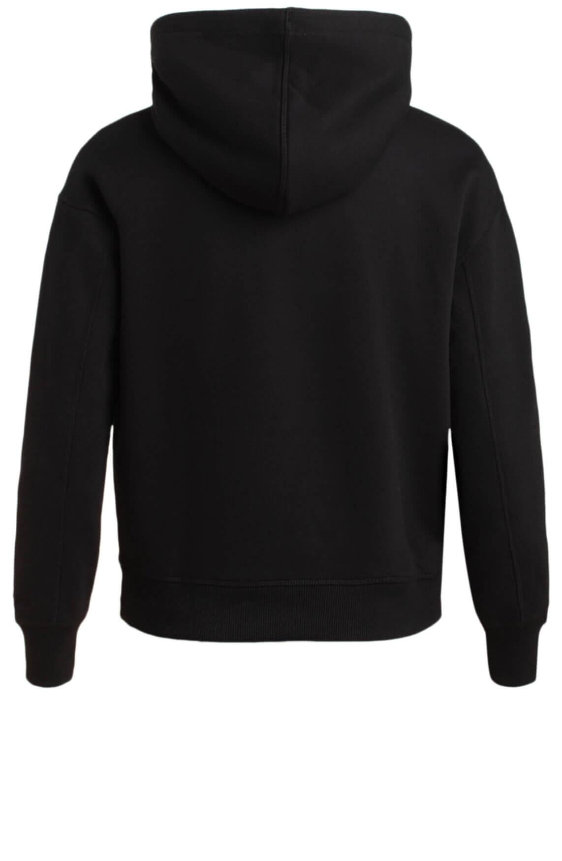 Calvin Klein Dames Sweater met capuchon zwart