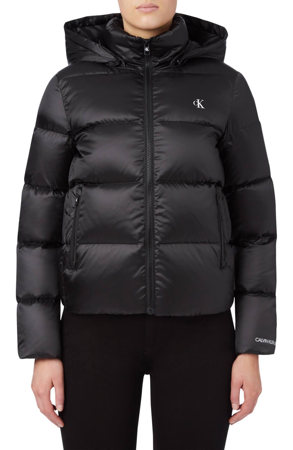 Calvin Klein Dames Gewatteerd jack zwart