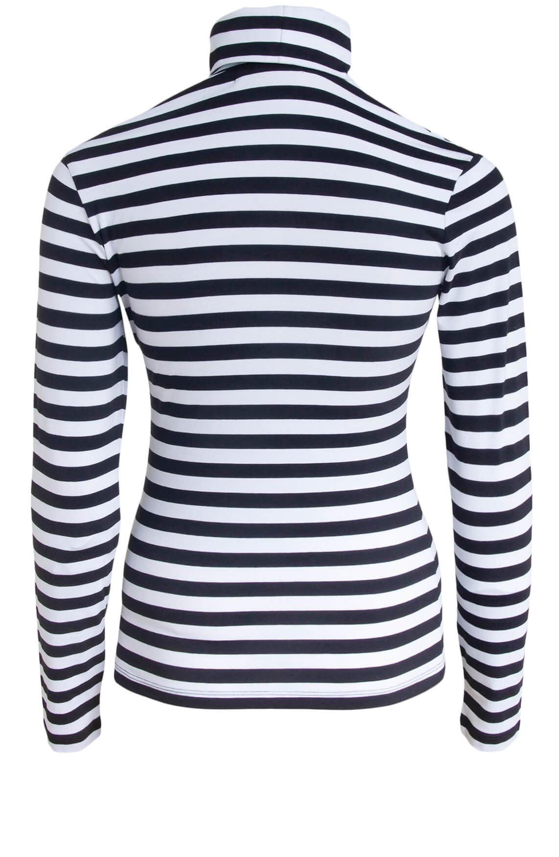 Calvin Klein Dames Gestreept shirt zwart