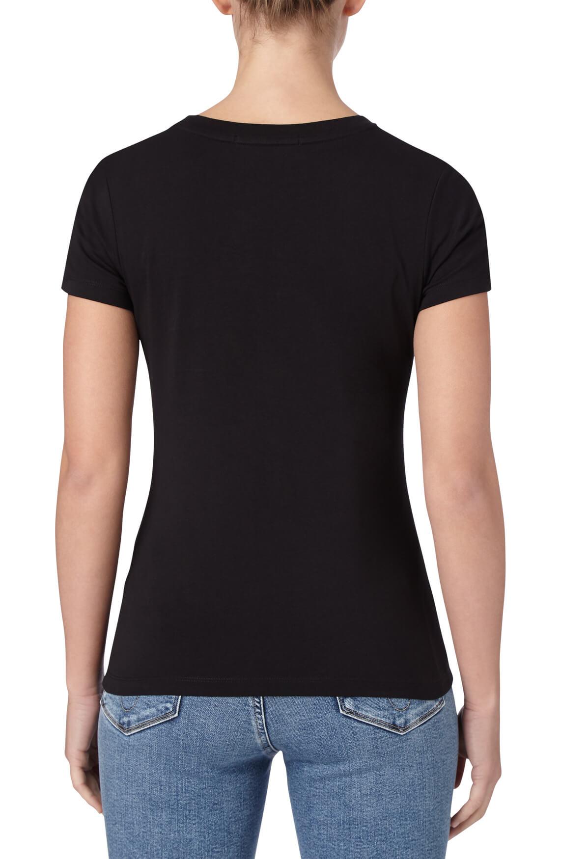Calvin Klein Dames Shirt met opdruk zwart