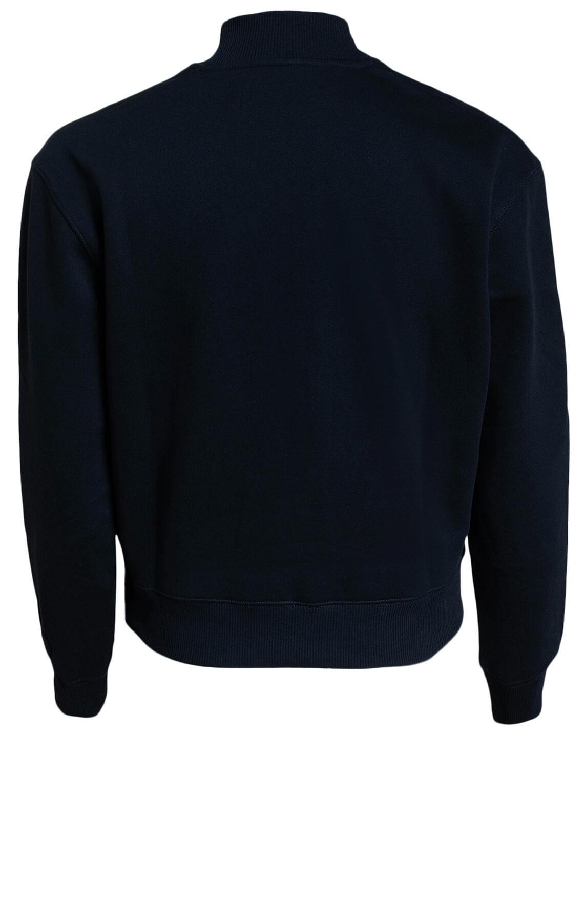 Calvin Klein Dames Sweater met opdruk zwart