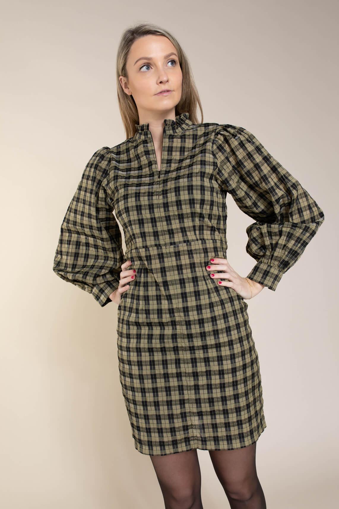 Second Female Dames Osla jurk groen