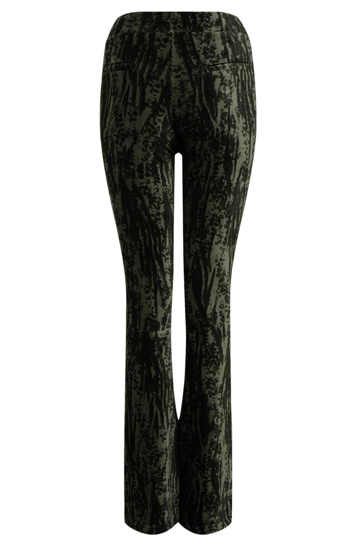 Alix The Label Dames Velvet broek groen